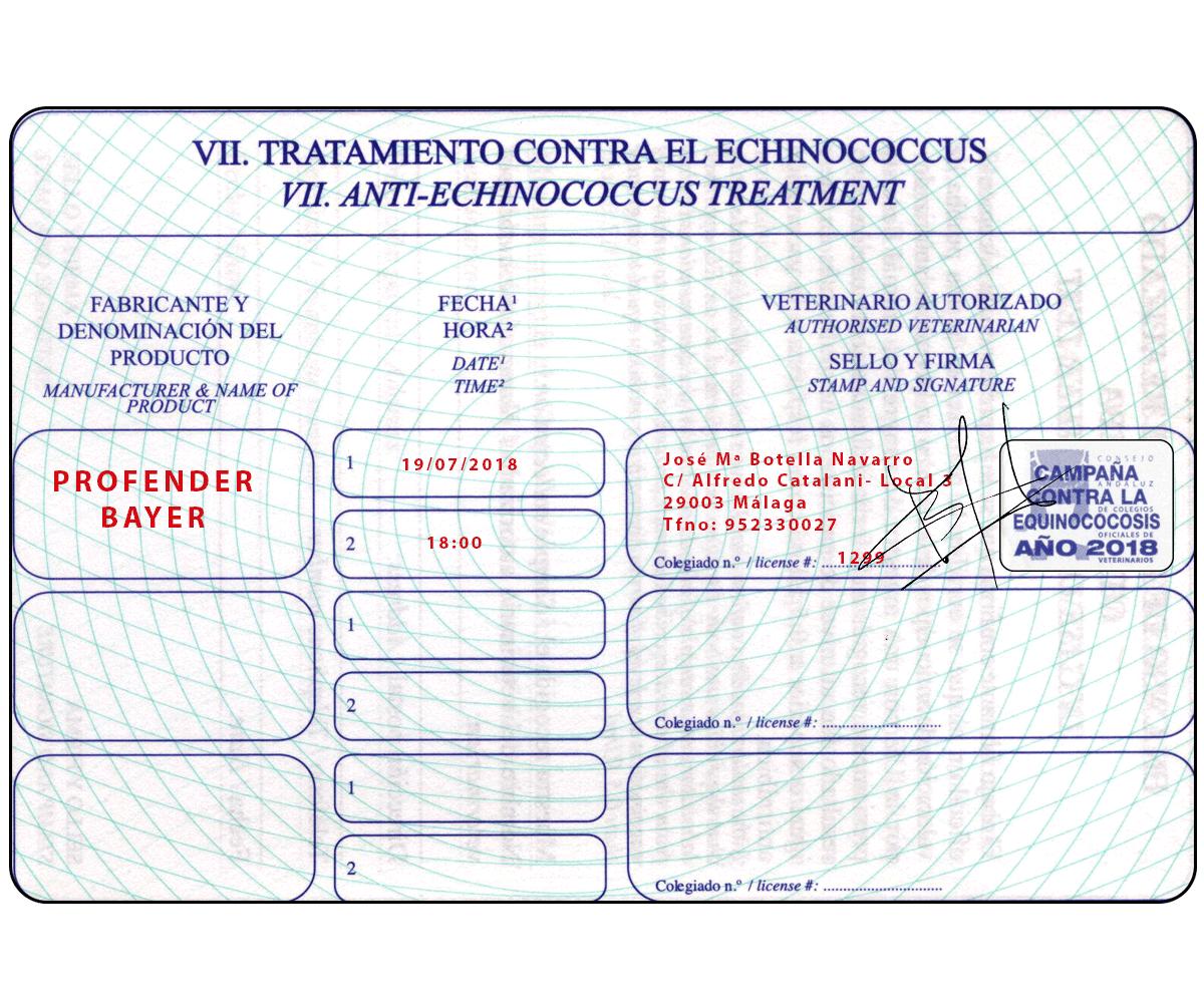 Pasaporte seccion equinococo