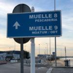 Una vez cruzamos el río no encontramos la señalización al Muelle 8.