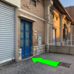Puerta exterior de acceso a P.I.F. vista completa